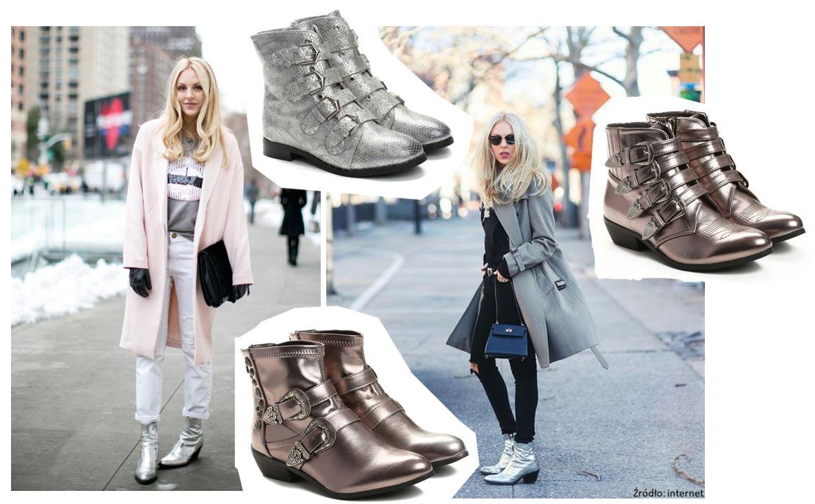 Jak nosić srebrne buty?