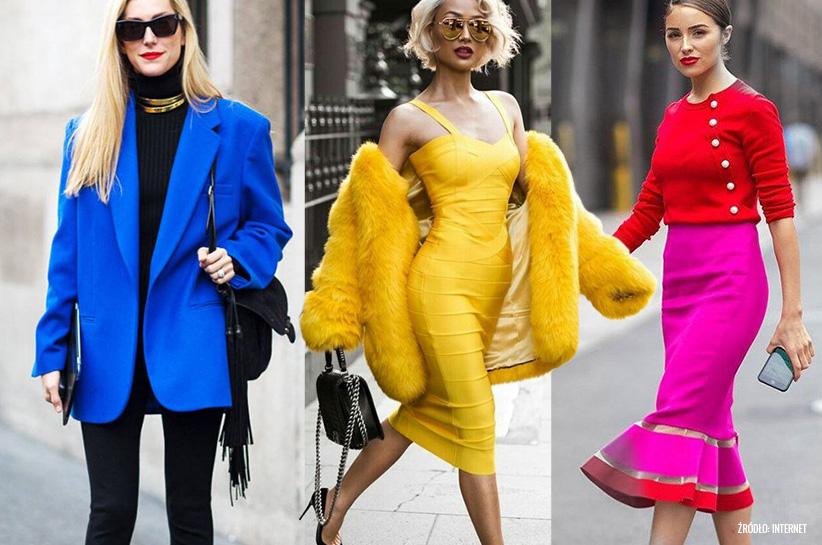 Modne kolory lato 2019