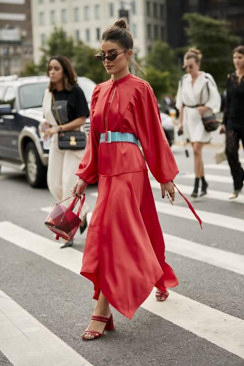 Czerwona stylizacja 2019