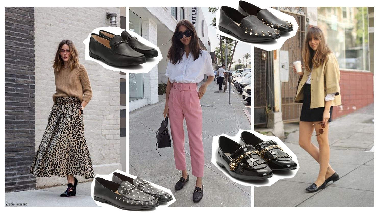 Mokasyny buty na wiosnę
