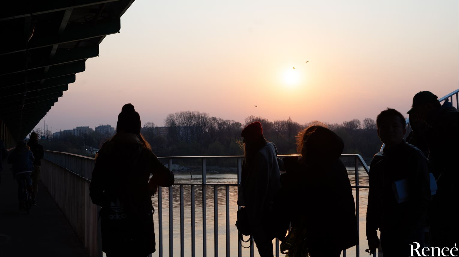 Sesja na moście Gdańskim
