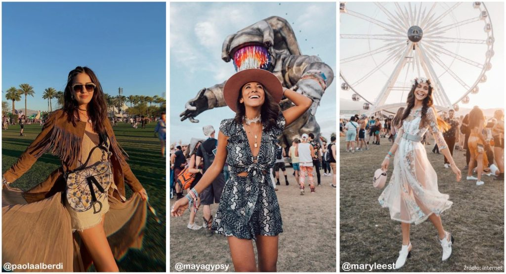 Co noszą blogerki na festiwal?