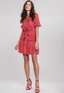 czy czerwone buty pasują do czerwonej sukienki