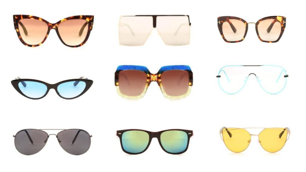 okulary przeciwsłoneczne kształt twarzy