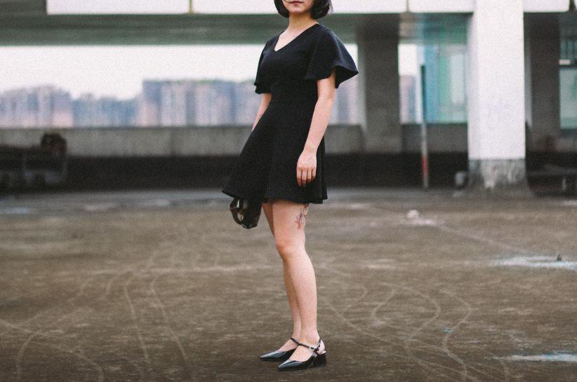 Torebka do małej czarnej sukienki