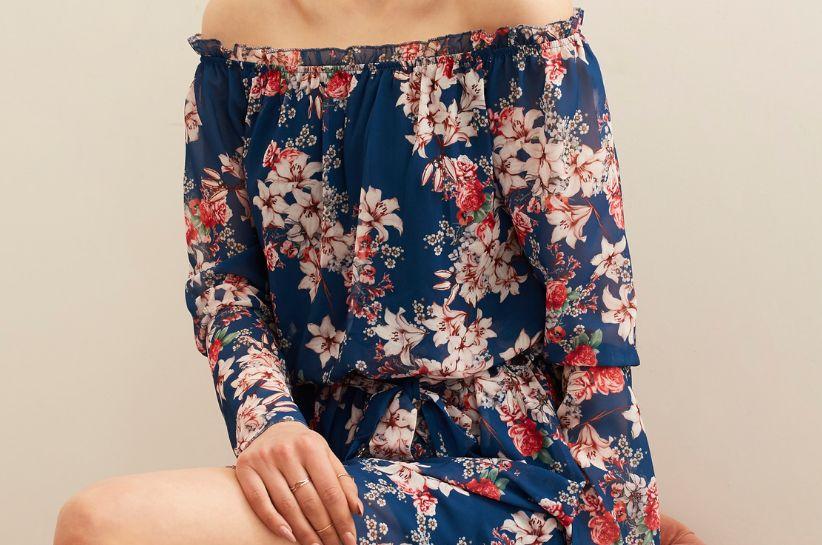 jak nosić sukienkę hiszpankę