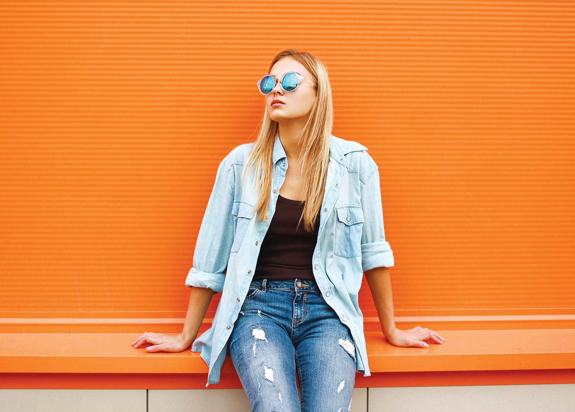 koszula jeansowa damska stylizacje