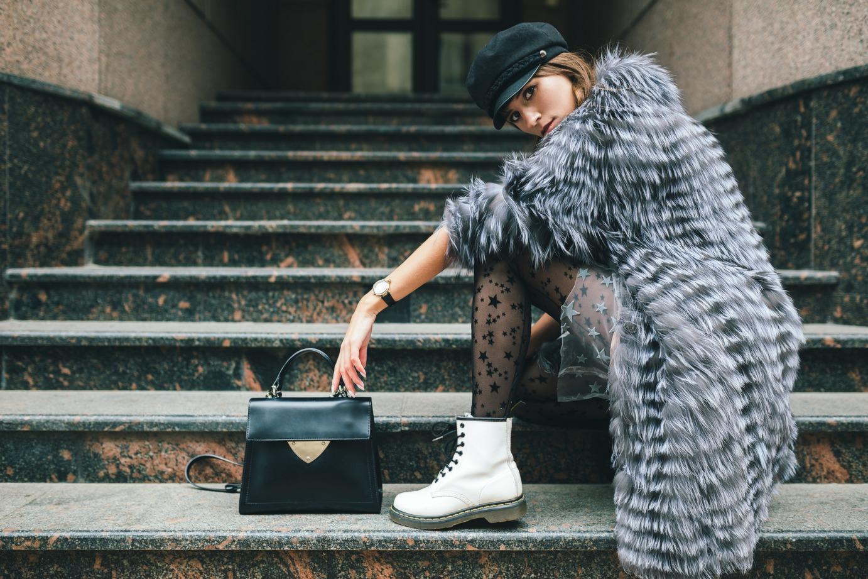 Trapery damskie modne stylizacje