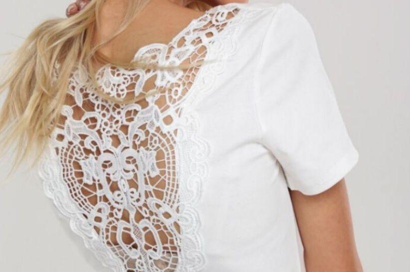koronkowa bluzka damska