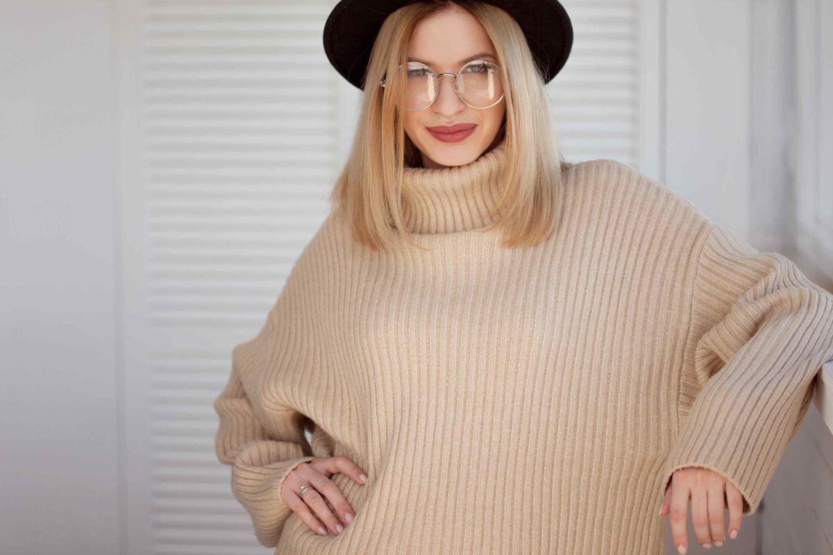 jak nosić sweter oversize