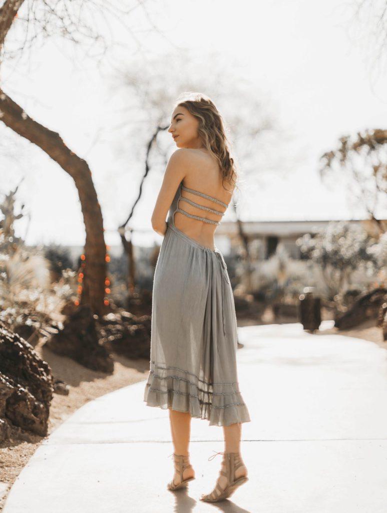 Boho sukienka