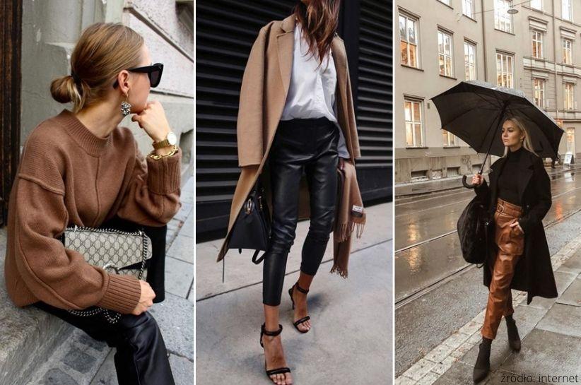 spodnie woskowane damskie
