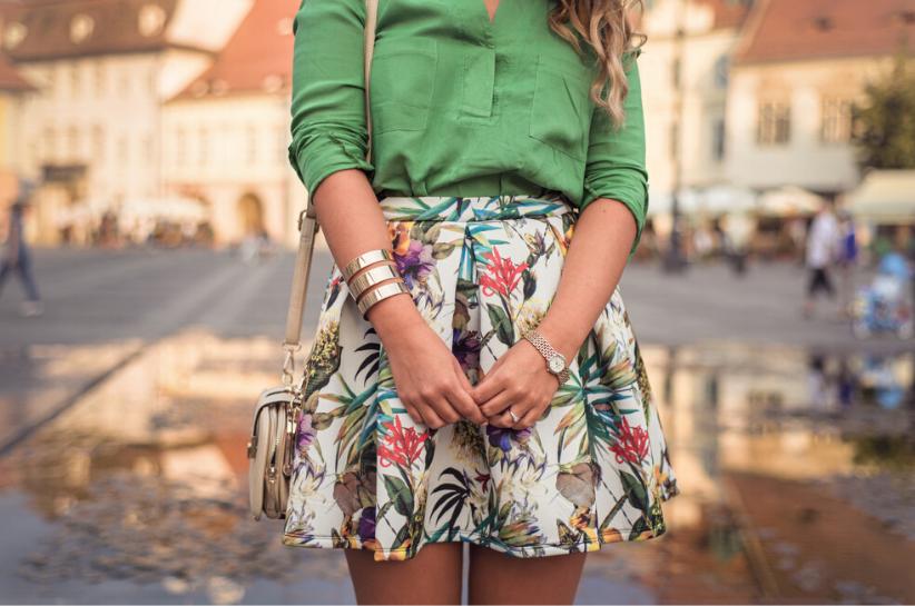 styl romantyczny w modzie