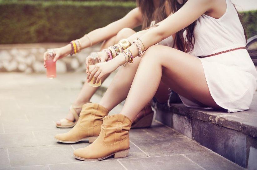buty boho stylizacje