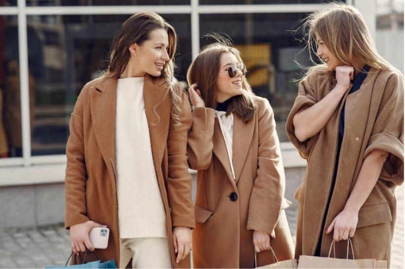 płaszcz oversize stylizacje