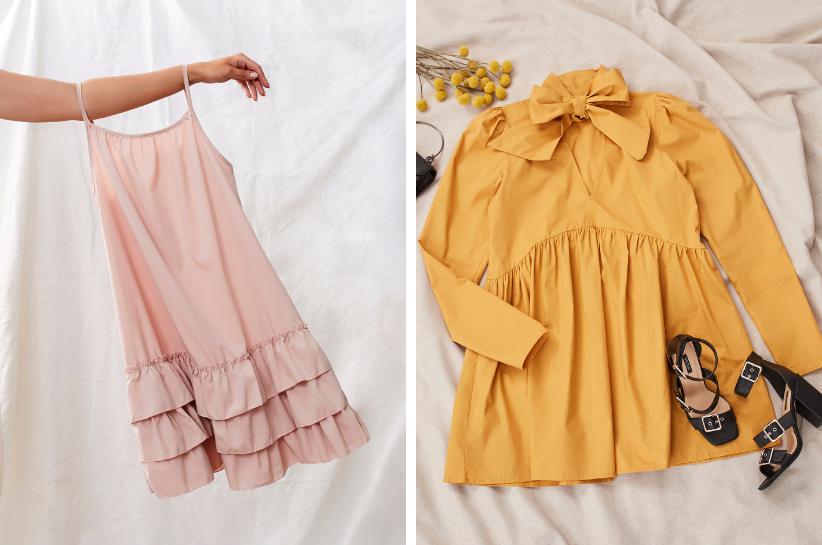 sukienka oversize stylizacje