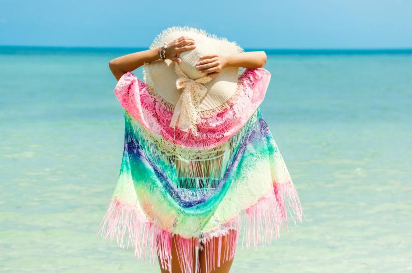 pareo na plażę stylizacje